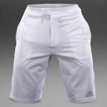 Adidas Andy Murray Barricade Bermuda Shorts - White