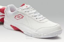 Lotto Womens Court Logo IV W - White/Red