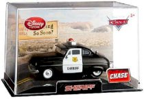 Disney / Pixar Cars Movie Exclusive 1:48 Die Cast Car In Plastic Case Sheriff (Chase Edition)