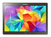 Samsung Galaxy Tab S 10.5 (SM - T805) (Quad-Core 1.9 GHz Cortex-A15 & Quad-Core 1.3 GHz Cortex-A7, 3GB RAM, 16GB Flash Driver, 10.5 inch, Android OS v4.4.2) WiFi Model Titanium Bronze