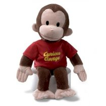 "Gund 16"" Curious George Plush Figure"