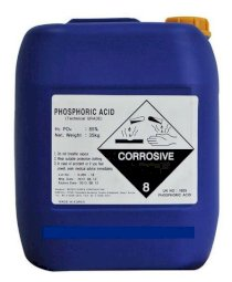 Acid Phosphoric H3PO4 85% Min (35kg/ can)
