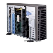 "Server Supermicro SuperServer 7047R-TXRF 4U Tower Barebone LGA 2011 DDR3 1600 (Intel Xeon E5-2600 series, RAM Up to 1TB ECC DDR3, HDD 8x Hot-swap 3.5"" HDD Bays, 1280W)"