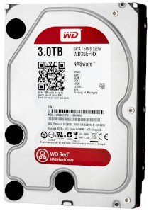 "Western Digital Red 4TB IntelliPower 64MB Cache SATA 6.0Gb/s 3.5"" Internal Hard Drive - Bare Drive"