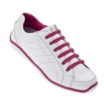 Footjoy Womens LoPro Casual White Leather Pink Accent