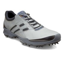 Ecco - BIOM Lace Golf Shoes White/Steel