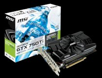 MSI N750Ti-2GD5/OC (NVIDIA GeForce GTX 750Ti, Ram 2GB GDDR5, 128-bit, PCI Express x16 3.0)