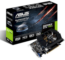 ASUS GTX750TI-PH-2GD5 (NVIDIA GeForce GTX 750 Ti, GDDR5 2GB, 128bits, PCI Express 3.0)