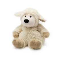 "Cozy Plush Juniors 6"" Sheep - Heatable Lavender Scented Soft Toy"