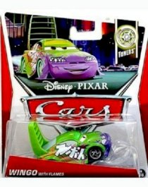 Disney / Pixar Cars Movie 1:55 Die Cast Car Wingo with flames (Tuners 4/10) (Toys & Games) Holiday Gifts