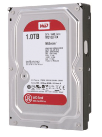 Western Digital Red WD10EFRX 1TB - IntelliPower RPM - 64MB Cache - SATA 6.0Gb/s - 3.5""