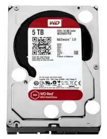 Western Digital Red WD50EFRX 5TB - IntelliPower RPM - 64MB Cache - SATA 6.0Gb/s - 3.5""