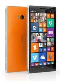 Nokia Lumia 830 Orange