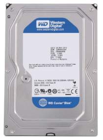 Western Digital Caviar Blue - 500GB - 7200rpm - 32MB cache - Sata 6.0 Gb/s (WD5000AZLX)