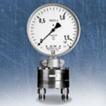 Differential Pressure Gauge with Diaphragm DKU 100