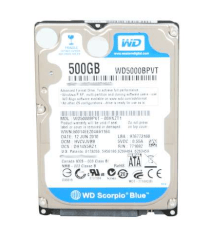 Western Digital Blue 500GB - 5400rpm - 8MB Cache - Sata 6.0 Gb/s (WD5000BPVT)
