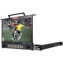 "Datavideo TLM-170GM 17.3"" HD/SD TFT LCD Monitor - 1U Foldable Rackmount Tray Unit"