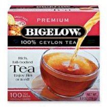 Bigelow Tea Company : Ceylon Black Tea, Individual Wrapped, 100/BX -:- Sold as 2 Packs of - 100 - / - Total of 200 Each