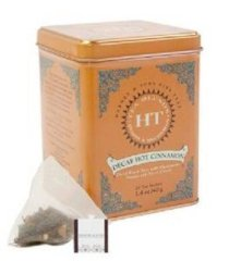Harney and Sons Decaf Hot Cinnamon , Decaf Flavored Black 20 Sachets per Tin 1.4oz