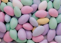 Assorted Jordan Almonds: 5 LBS