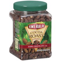 Emerald Cocoa Roast Dark Chocolate Almonds - 38 oz. (2 pack)