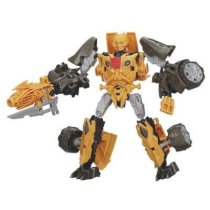 Transformers Age of Extinction Construct-Bots Dinobot Warriors Bumblebee and Nosedive Dino Buildable Action Figure