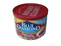 Blue Diamond Almonds Cherry Pie Limited Edition 6oz Can (Pack of 4)