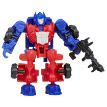 Transformers Age of Extinction Construct-Bots Dinobot Riders Optimus Prime Buildable Figure