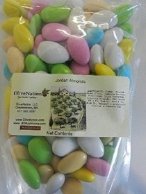 OliveNation Fine Jordan Almonds 16 oz