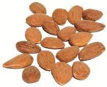 100% Certified Organic Almonds, 2lb bag, Imported , Non Pasteurized (Raw), by Green Bulk