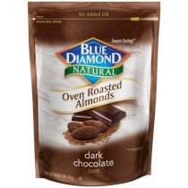 Blue Diamond Oven Roasted Almonds, Dark Chocolate, 30-ounce bag