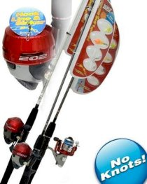 Zebco Hook-Line-Sinker 404KR/HLSC662M SC Fishing Rod and Reel Combo