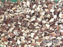 Chopped Almonds (Dices) - Roasted, Un-salted - 2 lbs bag from Green Bulk