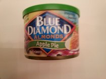 Blue Diamond Almonds Apple Pie Limited Edition 6oz Can (Pack of 4)