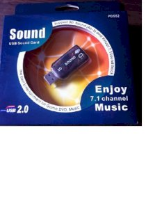 Card Sound USB 7.1 PD552