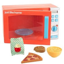 Just Like Home Talking Microwave Oven - Orange