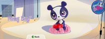 Penny Ling Toy - 2012 McDonald's Happy Meal Littlest Pet Shop Series #2