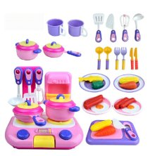 38 Sets Manual of Cooking Utensils Baby Educational Toys,educational Toys Simulation Kitchen Utensils