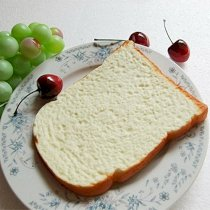 Moving Box 2 PCS Fake Cake Artificial Bread Toast Photography Props Kitchen Toy Decoration