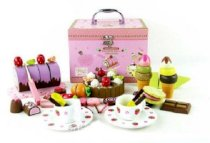 Mix Set Wooden Kitchen Toys Kitchen Accessories Play House Toys Hot Sale !! Mother Garden Wooden Chocolate Cake