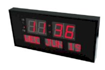 "Metro Fulfillment House Ehealthsource Digital Led Calendar Clock, 15 3/4"" Day And Date 
