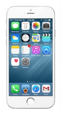Apple iPhone 6 Plus 128GB CDMA Silver