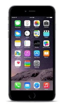 Apple iPhone 6 Plus 128GB Space Gray (Bản Lock)
