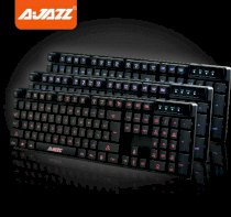 Ajazz Cyborg Soldier Tri-Led Gaming Keyboard MechaniCal Hand Feel