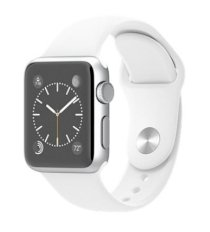 Đồng hồ thông minh Apple Watch Sport 42mm Silver Aluminum Case with White Sport Band