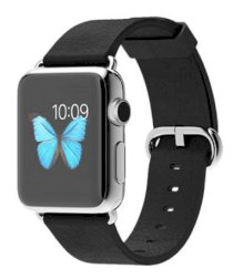 Đồng hồ thông minh Apple Watch 38mm Stainless Steel Case with Black Classic Buckle