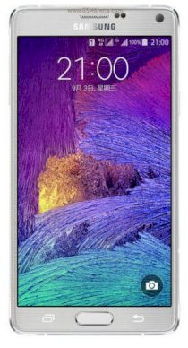 Samsung Galaxy Note 4 (Samsung SM-N910S/ Galaxy Note IV) Frosted White for Korea