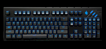 Cooler Master QUICK FIRE ULTIMATE Blue switch/Red backlight (SGK-4011-GKCL1)