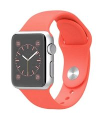 Đồng hồ thông minh Apple Watch Sport 38mm Silver Aluminum Case with Pink Sport Band