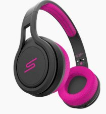 Tai nghe SMS Audio Street By 50 Wired On-Ear Sport Pink